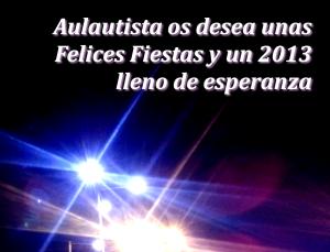 Felicitacion Aulautista 2012